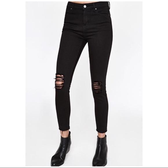 Bullhead Denim - Pacsun Bullhead High rise skinniest black jeans 351b17449fa4